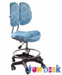 Детское кресло FunDesk SST6 (Simba) Голубой